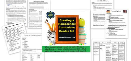 Homeschool Curriculum Grade 6-8