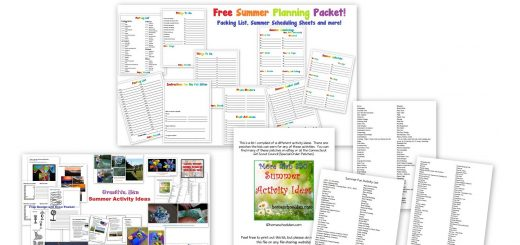 Summer Planning Printables Free - Summer Activity Ideas