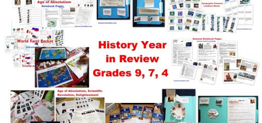 Homeschool History Year in Review