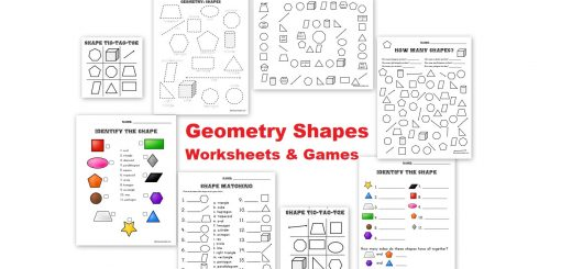Free Geometry Shapes Worksheets and Games
