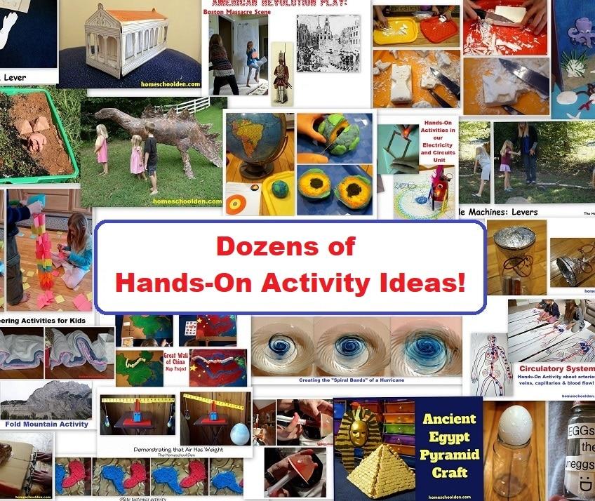 Dozens of Hands-On Activity Ideas