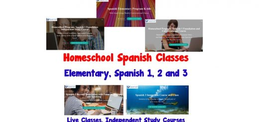 Homeschool Spanish Classes - Spanish 1 2 3
