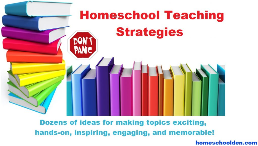 Homeschool Teaching Strategies - How to start homeschooling