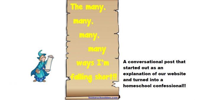 Homeschool confessional