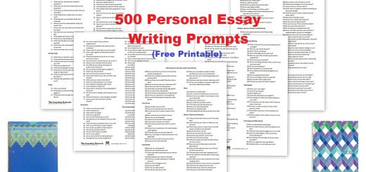 Free Writing Prompts - Personal Essay