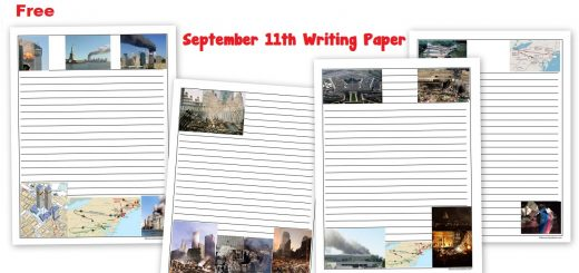 Free September 11th Writing Paper