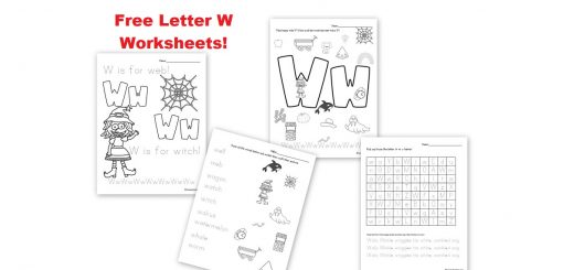 Free Letter W Worksheet Printables