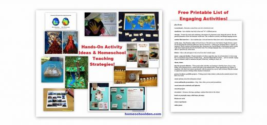 Hands-On Activity Ideas - Homeschool Teaching Strategies