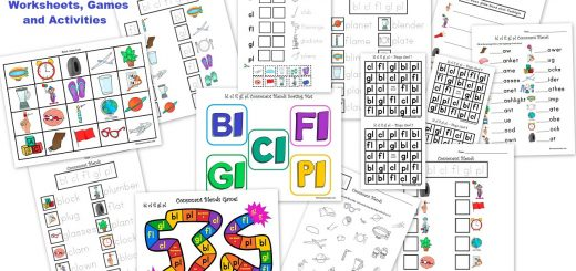 Consonant Blends - L-Blends - Worksheets Games and Activities