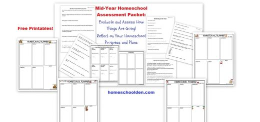 Mid-Year Homeschool Assessment Packet