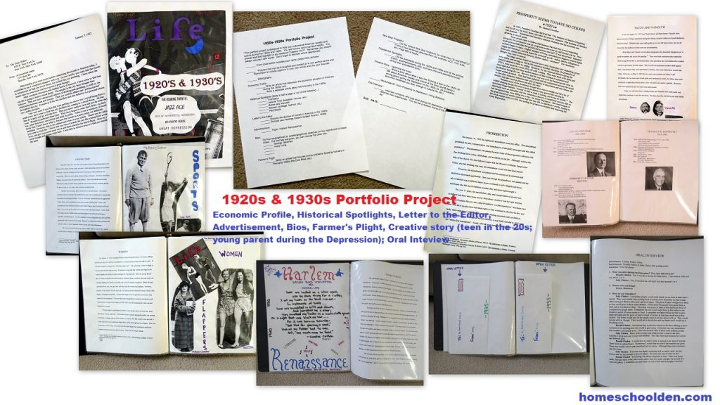 Portfolio Project - 1920s 1930s History Portfolio