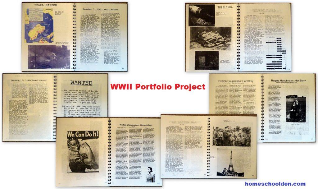 WWII History Portfolio Project