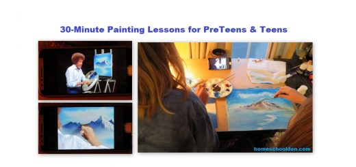 Free Painting Lessons - Preteens and Teens