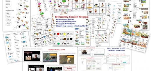Spanish Curriculum for Elementary Students - Elementary Spanish Curriculum