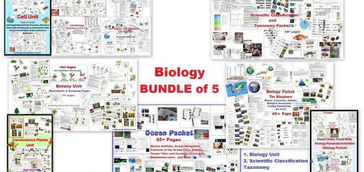 Biology Bundle of 5