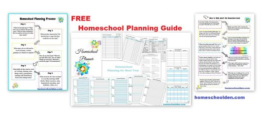 Free Homeschool Planning Guide