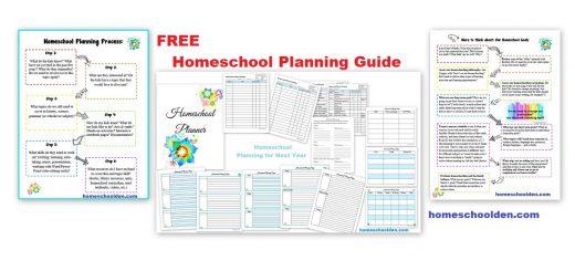 Free Homeschool Planning Guide