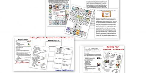 Homeschool Conference Hand-Outs - Free Printables