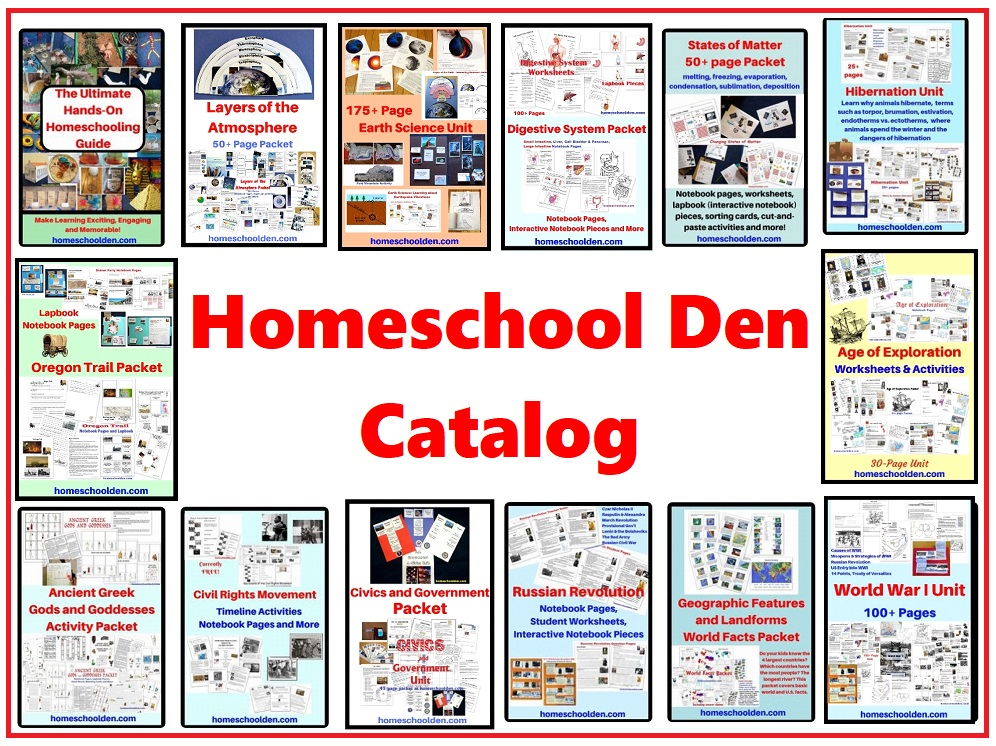 Homeschool Den Catalog