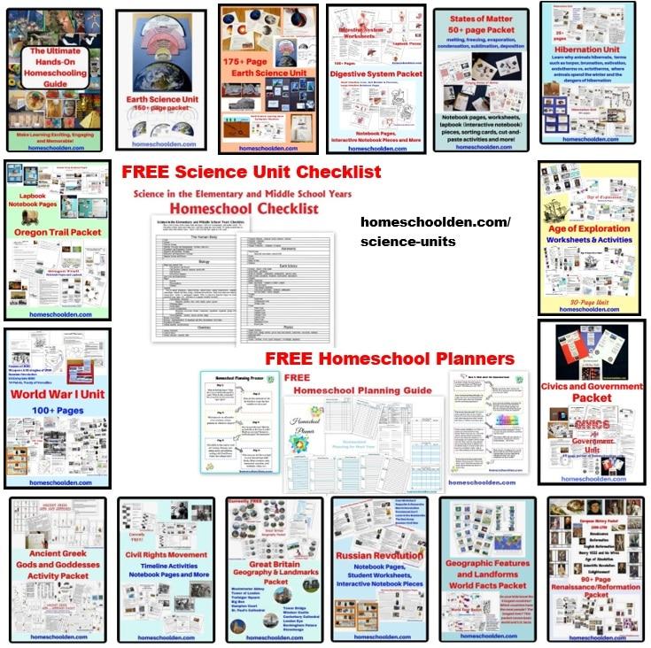 Homeschool Curriculum Units