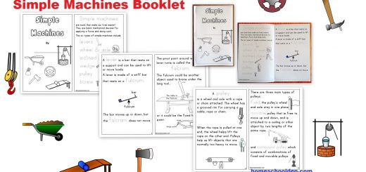 Simple Machines Booklet - Simple Machines Hands-On Activities
