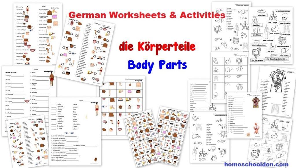 http://homeschoolden.com/wp-content/uploads/2019/05/German-Worksheets-die-K%C3%B6rperteile-Body-Parts-Organe-Knochen.jpg