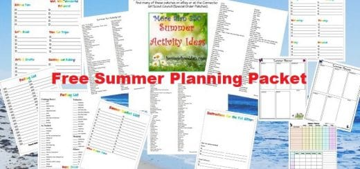 Free Summer Planning Packet