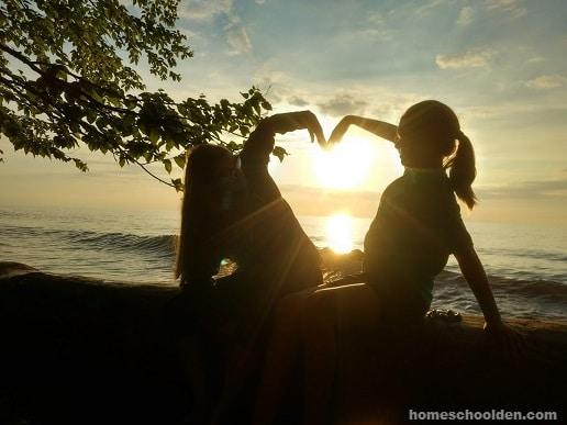 Heart - Love you Homeschooling