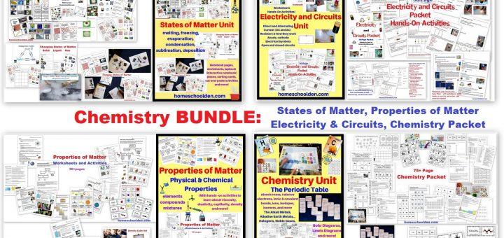 Chemistry Units BUNDLE