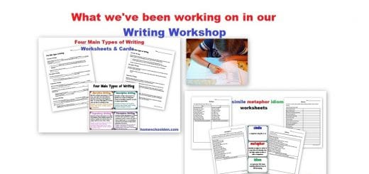 Our Homeschool Writing Workshop