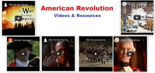American Revolution Video Documentaries