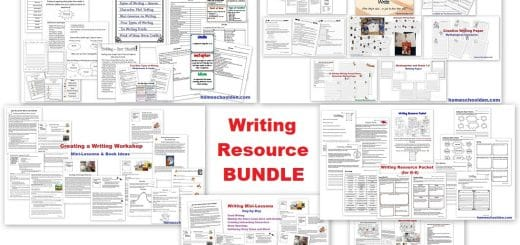 Writing Resource BUNDLE