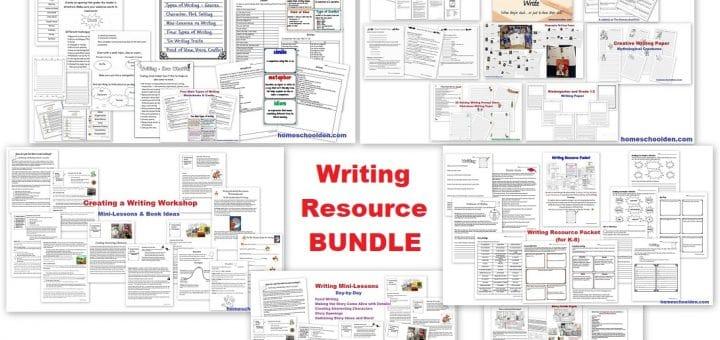 Writing Resource BUNDLE