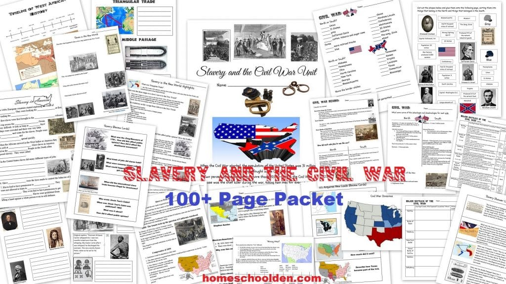 Slavery and the Civil War Packet