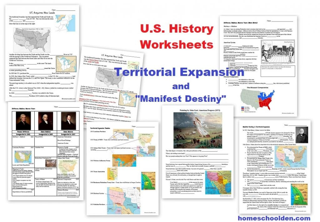 Manifest Destiny Doodle Notes And Digital Guided Notes By History Gal