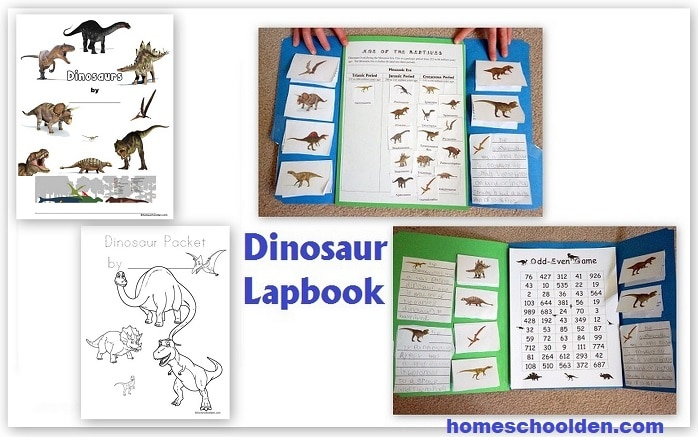 Dinosaur Lapbook Activities