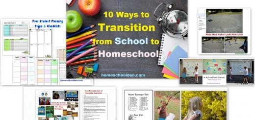 10 ways to transition from School to Homeschool - Tips and Strategies for School at Home