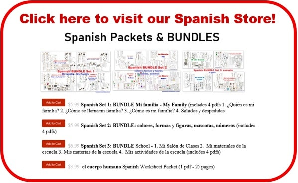 Spanish Store - Button