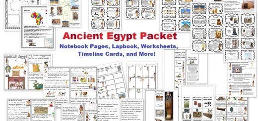 Ancient Egypt Packet