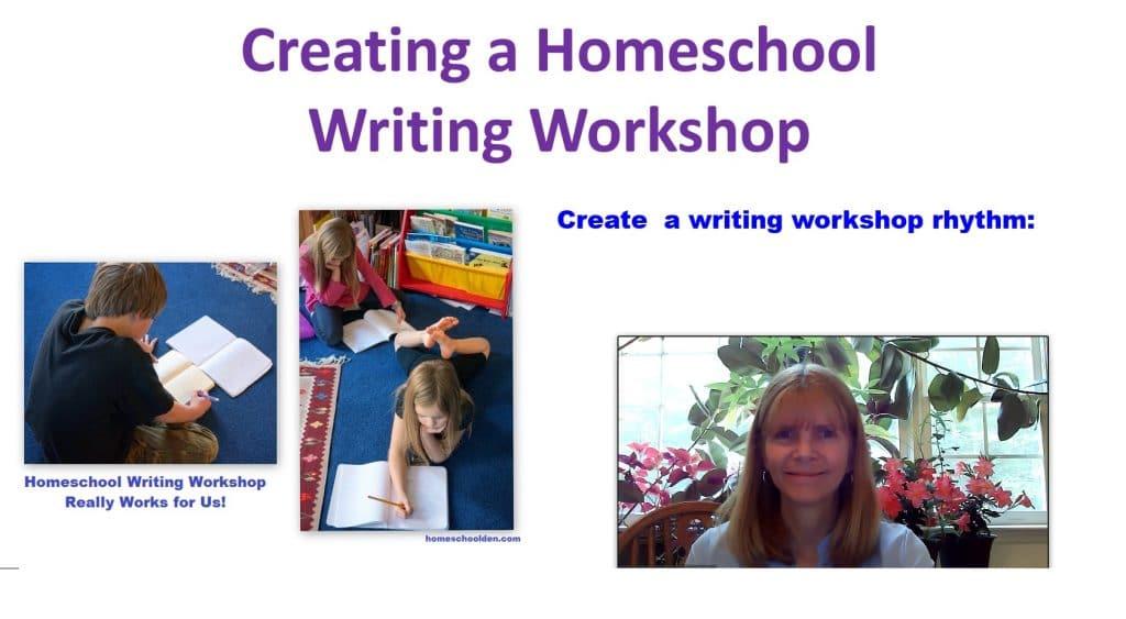 Homeschool Writing Workshop Thumbnail 2