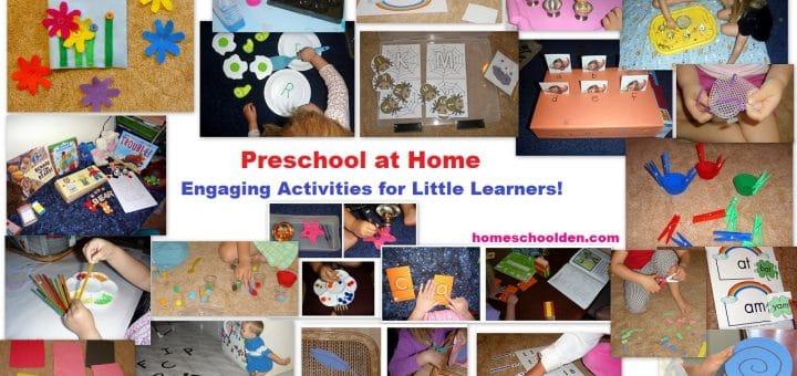 Preschool At Home - Engaging Activities for Little Learners