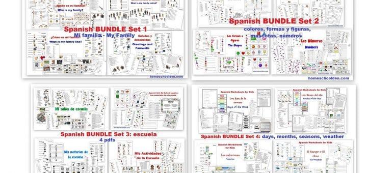 Spanish Store - BUNDLES 1 to 4