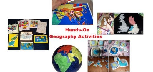 Hands-On Geography Activities