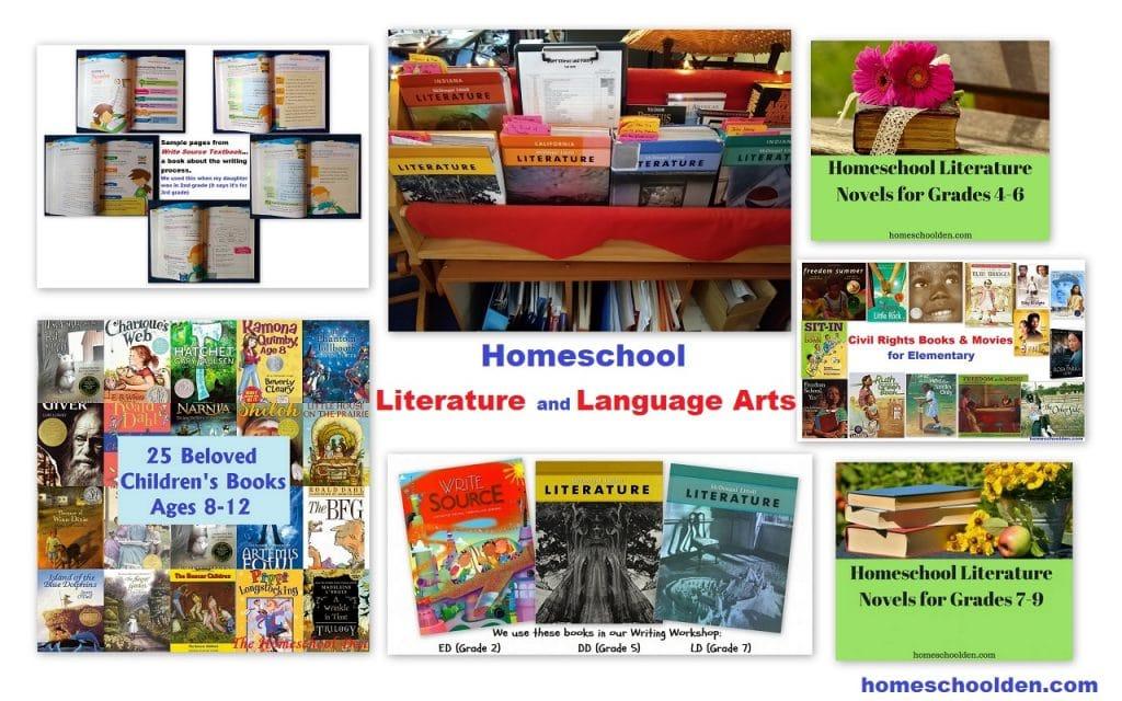 Homeschool Literature and Language Arts