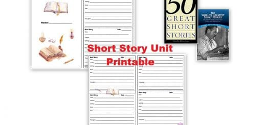 Short Story Unit Printable