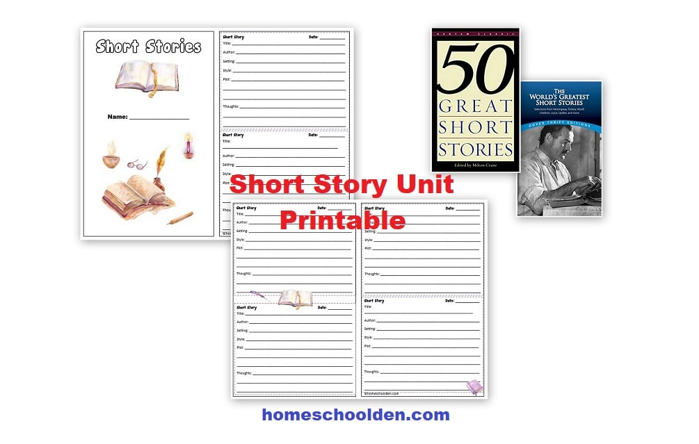 Short Story Unit Printable