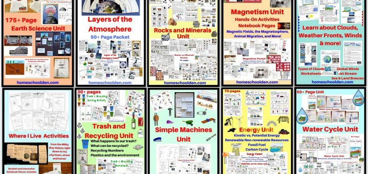 Earth Science and Physical Science Units BUNDLE