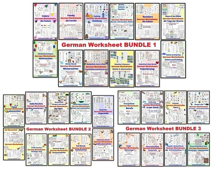 German BUNDLES