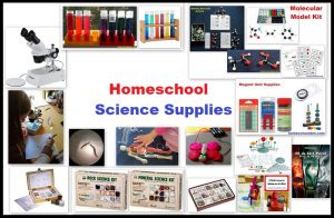 Homeschool Science Supplies