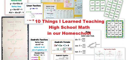 High School Math Homeschool